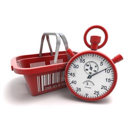 Speed shopping,