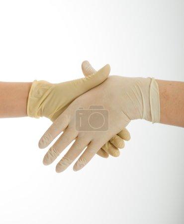 Hygienic handshake