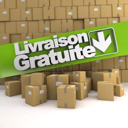 Livraison gratuite, box wall