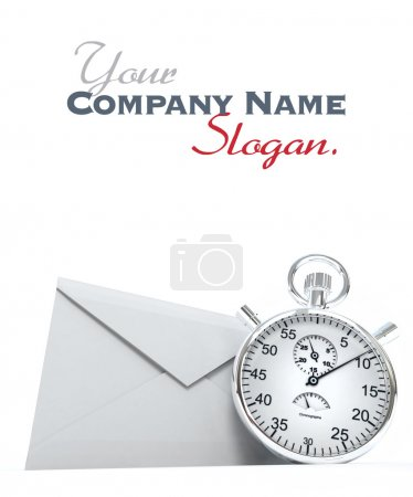 Envelope and chronometer