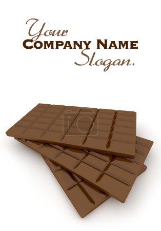Chocolate tablet trio