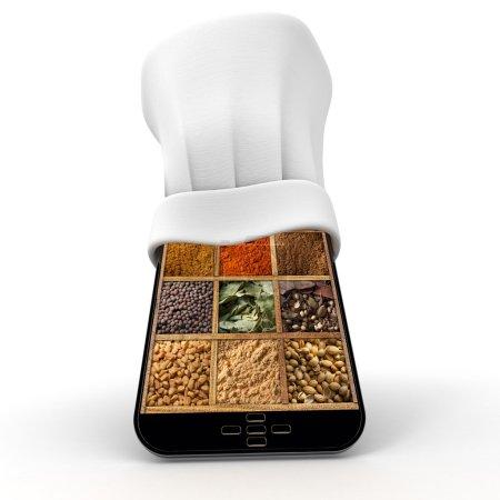 Spicy smartphone