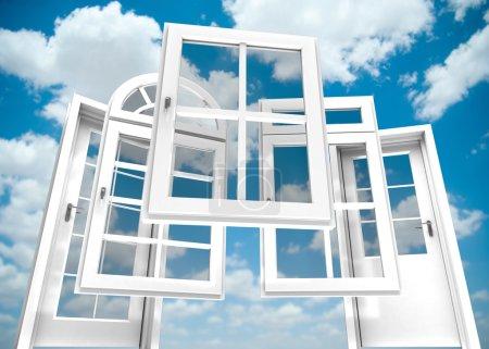 Doors and windows catalogue, sky