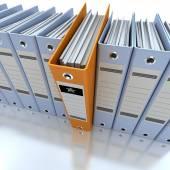 Podání a uspořádání informací modrá