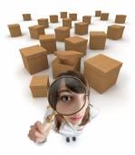 Box searching