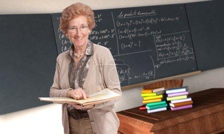 Friendly mature teacher