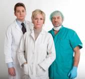 Vážné zdravotní personál