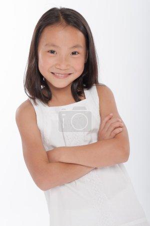 Cute Asian little girl