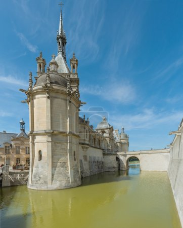 Photo for Partial view of Chantilly castle - Royalty Free Image