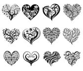 Tattoo hearts