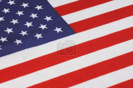 Photo for Close up of United States flag - Royalty Free Image
