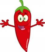 Red Chili Pepper Welcoming