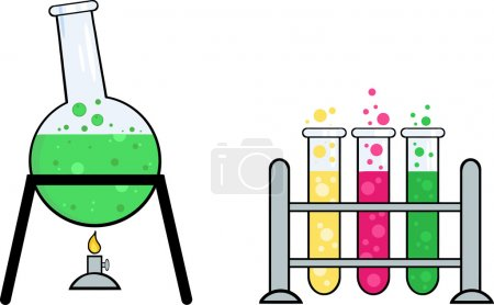 Equipment From A Chemistry Laboratory