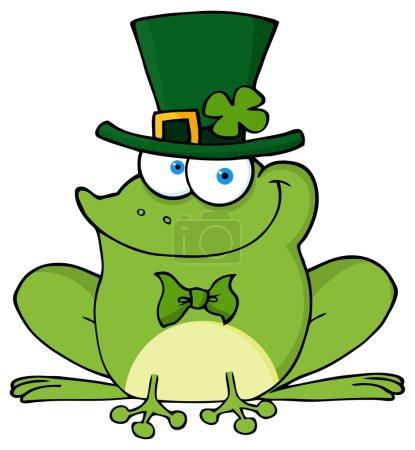 Happy Leprechaun Frog.