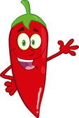 Smiling Red Chili Pepper