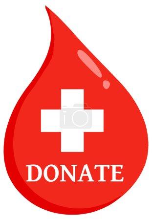 donate Blood Drop