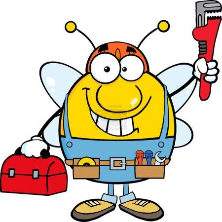 Pudgy Bee Plumber