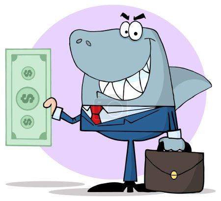 Smiled Business Shark Holding Cash...