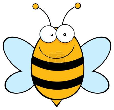 Bee Mascot Character