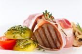 Vepřové maso s brambory