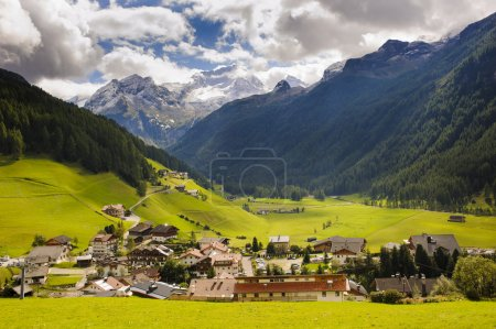 small village Rein in south Tyrol