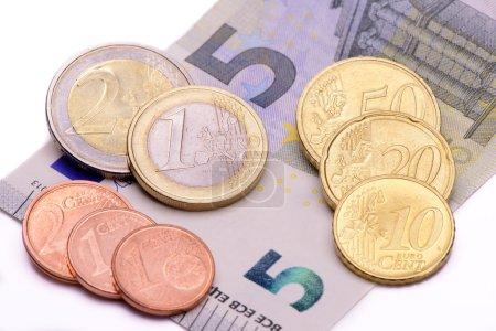 Foto de 8,84 euros salario en Alemania - Imagen libre de derechos