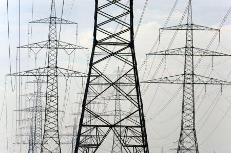 Electric power pylons
