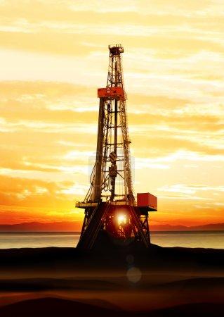 Gas- und Ölförderung