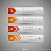 Modern vector design elements for infographics print layout web pages