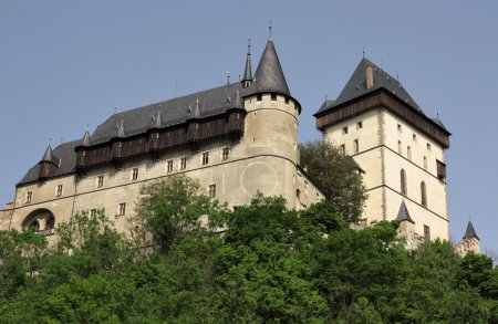 burgraviate palace and Big Tower - Kerlstejn