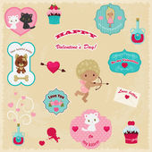 Beautiful collection of Valentine's Day vector icons