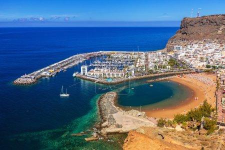 Puerto de Mogan on the coast of Gran Canaria