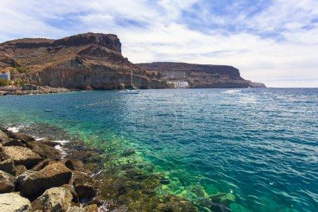 Marina of Puerto de Mogan, a small fishing port on Gran Canaria