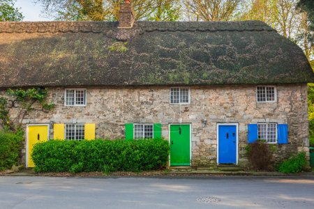 Traditional english cottage houses