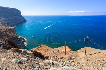 Coastline of Gran Canaria inTaurito