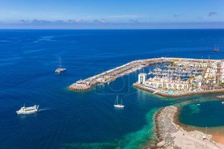 Puerto de Mogan town on the coast of Gran Canaria