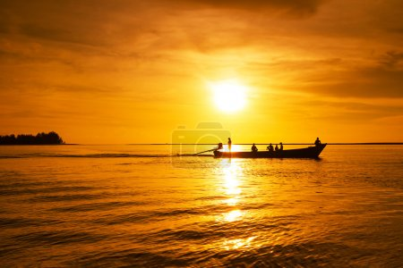 Andaman Sea at sunset