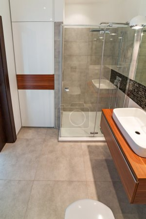 Photo for Modern bathroom interior - Royalty Free Image