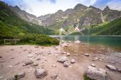 Beutiful Tatra mountains in Poland