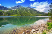 Beutiful Tatra mountains in Poland