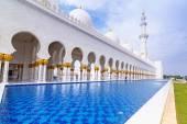 Sheikh Zayed Grand Mosque in Abu Dhabi