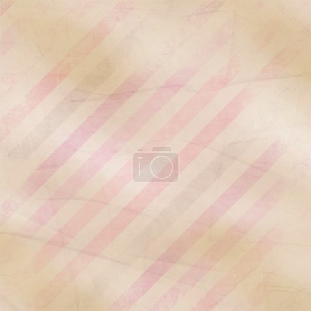 Photo for Retro paper background with  pink, purple, brown stripes - Royalty Free Image
