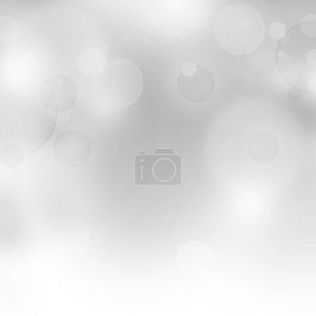 Foto de Fondo bokeh abstracta en blanco y gris - Imagen libre de derechos