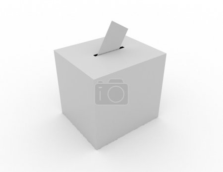 Photo for Ballot box concept - Royalty Free Image