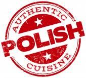 Polish cuisine stamp