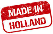 Made in holland stamp