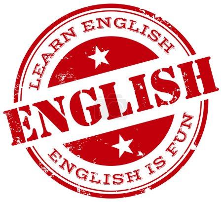 English stamp