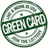 Green card stamp