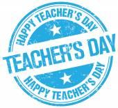 teachers day stamp