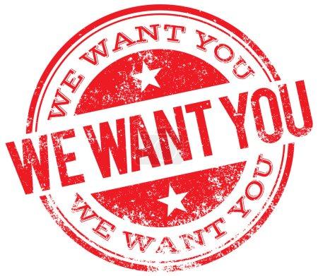 Nous voulons que vous timbrez